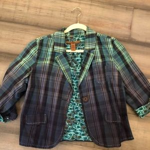 Large Old Navy multicolor blazer